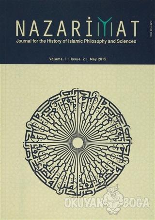 Nazariyat Dergisi Volume : 1 Issue : 2 May 2015 (İngilizce) - Kolektif