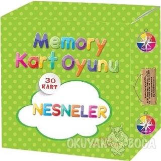 Nesneler - Memory Kart Oyunu - Sibel Seyman - Beyaz Pusula Yayınları