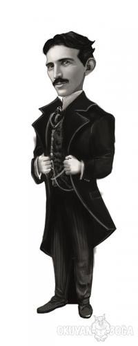 Nikola Tesla (Karikatür) - Ayraç