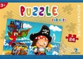 Norm Puzzle 24 Parça Advanture - Kolektif - Gizzy Art