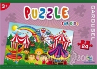 Norm Puzzle 24 Parça Carousel - Kolektif - Gizzy Art
