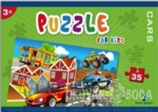 Norm Puzzle 35 Parça Cars - Kolektif - Gizzy Art
