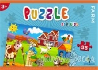 Norm Puzzle 35 Parça Farm - Kolektif - Gizzy Art