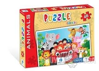 Norm Puzzle 48 Parça Animals - Kolektif - Gizzy Art