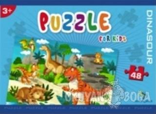 Norm Puzzle 48 Parça Dinasour