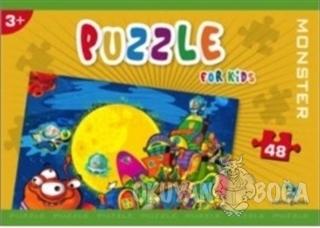 Norm Puzzle 48 Parça Monster - Kolektif - Gizzy Art