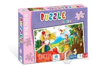 Norm Puzzle 60 Parça Friends - Kolektif - Gizzy Art