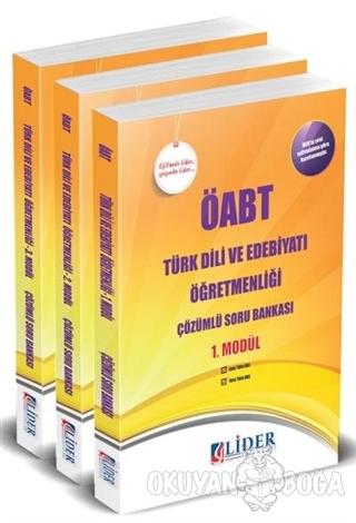 ÖABT Türk Dili ve Edebiyatı Öğretmenliği Çözümlü Soru Bankası Modüler