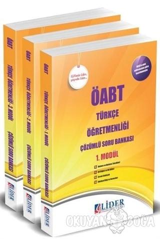 ÖABT Türkçe Öğretmenliği Çözümlü Soru Bankası Modüler Set - Kolektif -