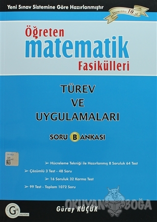 Öğreten Matematik Fasikülleri - Türev ve Uygulamaları Soru Bankası - G