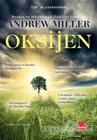 Oksijen - Andrew Miller - Kırmızı Kedi Yayınevi