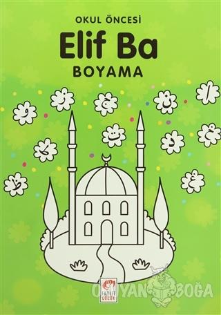 Okul Öncesi Elif Ba Boyama