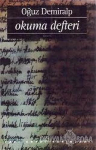 Okuma Defteri - Oğuz Demiralp - Yapı Kredi Yayınları