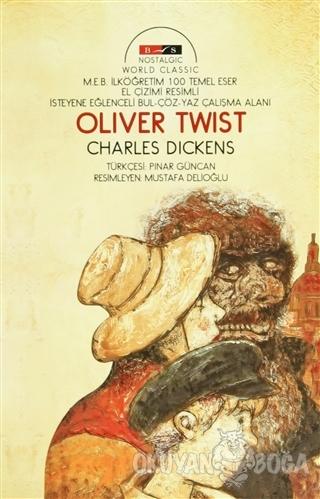 Oliver Twist (Nostalgic) - Charles Dickens - Bordo Siyah Yayınları
