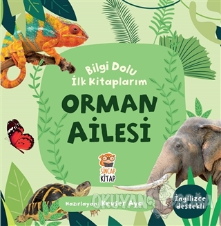 Orman Ailesi - Bilgi Dolu İlk Kitaplarım - Kevser Aya - Sincap Kitap