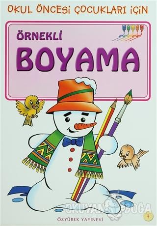 Örnekli Boyama 4 - Kolektif - Özyürek Yayınları
