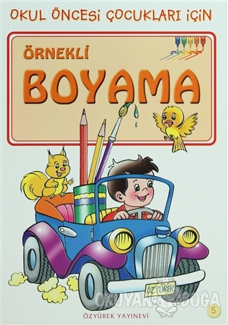 Örnekli Boyama 5 - Kolektif - Özyürek Yayınları