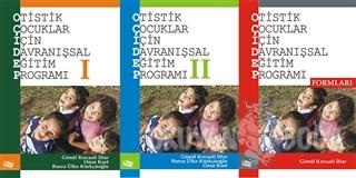 Otistik Çocuklar İçin Davranışsal Eğitim Programı Seti (3 Kitap) - Gön