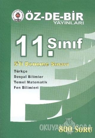 Özdebir 11. Sınıf 5'li Deneme Sınavı - Kolektif - Öz-De-Bir Yayınları