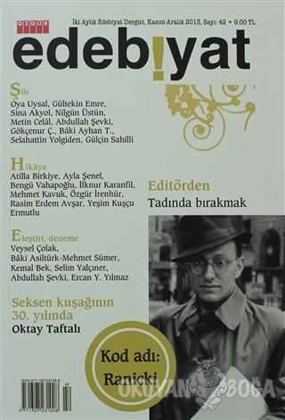 Özgür Edebiyat Dergisi Sayı: 42 Kasım-Aralık 2013 - Kolektif - Özgür Y