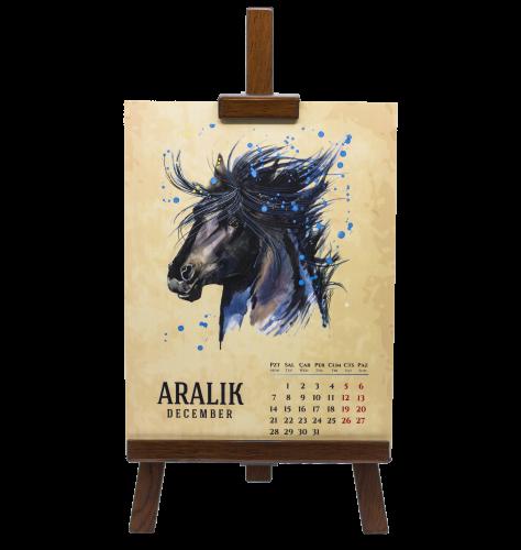 Özgür Atlar Takvimi - - Doğanın Ritmi