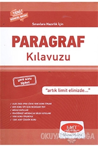 Paragraf Klavuzu - Kolektif - Limit Yayınları
