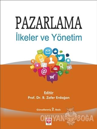 Pazarlama - Zafer Erdoğan - Ekin Basım Yayın - Akademik Kitaplar