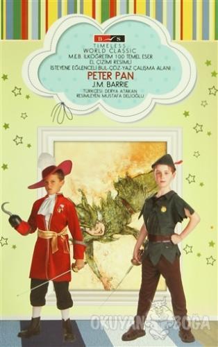 Peter Pan (Timeless) - James Matthew Barrie - Bordo Siyah Yayınları