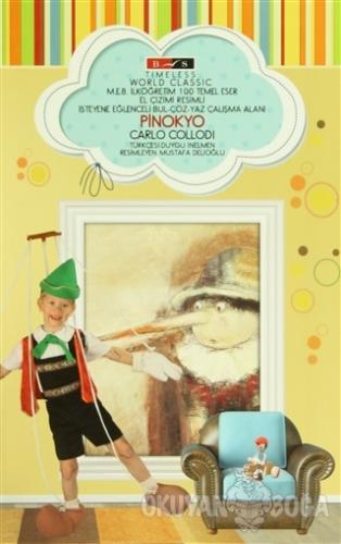 Pinokyo (Timeless) - Carlo Collodi - Bordo Siyah Yayınları