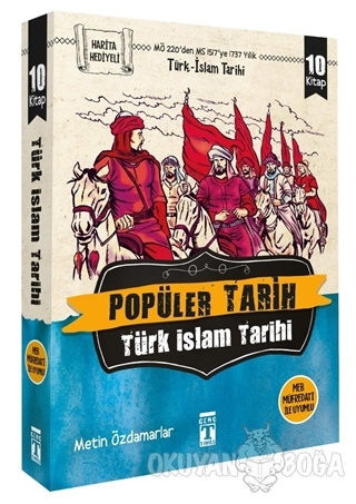 Popüler Tarih - Türk İslam Tarihi (10 Kitap Takım) - Metin Özdamarlar
