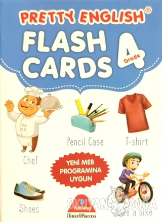 Pretty English Flash Cards 4 Grade - Kolektif - D Publishing Yayınları