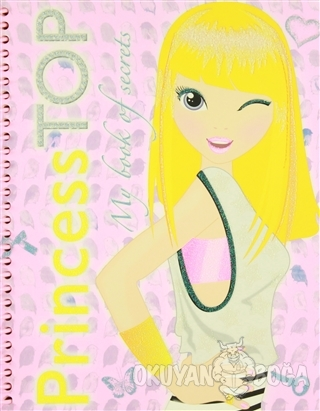 Princess Top My Book Of Secrets (Pembe)
