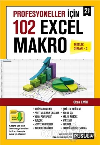 Profesyoneller için 102 Örnekle Excel Makro (Meslek Sırları 2) - Okan