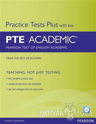 PTE Academic Practice Tests Plus With Key - Kolektif - Pearson Ders Ki