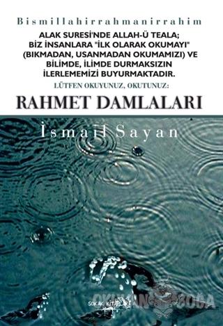 Rahmet Damlaları - İsmail Sayan - Sokak Kitapları Yayınları