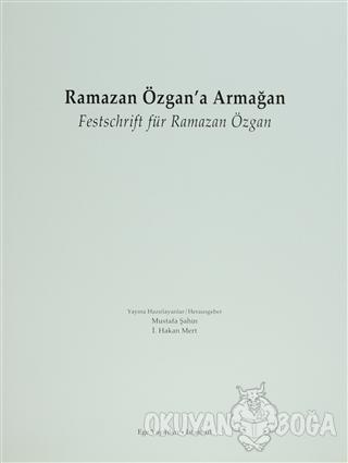Ramazan Özgan'a Armağan Festschrift für Ramazan Özgan (Ciltli) - Kolek