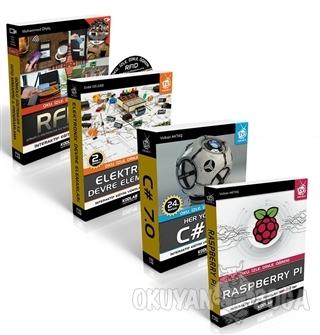 Raspberry Pi Proje Seti (4 Kitap Takım) - Volkan Aktaş - Kodlab Yayın