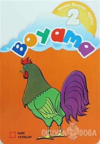 Renkli Örnekli Eğitici Boyama 2 - Kolektif - Kare Yayınları - Okuma Ki