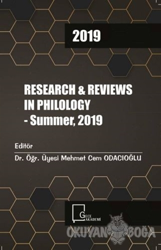 Research and Reviews In Philology - Summer 2019
