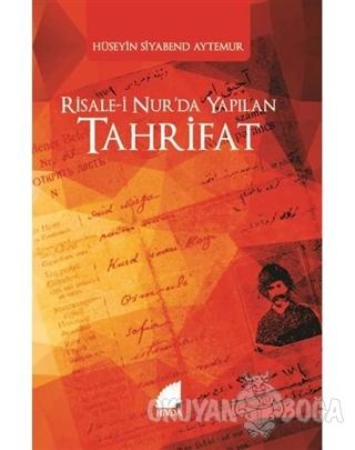 Risale-i Nur'da Yapılan Tahrifat