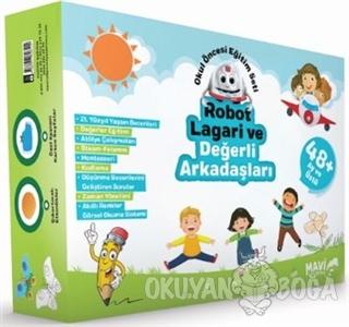 Robot Lagari ve Değerli Arkadaşları - Okul Öncesi Eğitim Seti 48 Ay ve Üstü