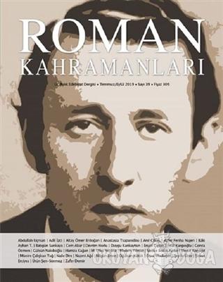 Roman Kahramanları Dergisi Sayı: 39 Temmuz - Eylül 2019