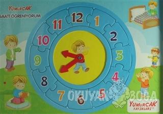 Saati Öğreniyorum Yapboz (12 Parça)