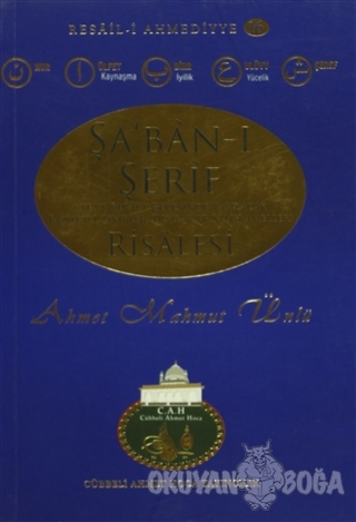 Şa'ban-ı Şerif Risalesi - Ahmet Mahmut Ünlü - Cübbeli Ahmet Hoca Yayın