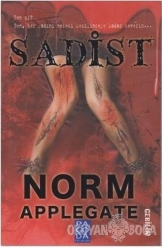 Sadist - Norm Applegate - Pagoda Yayınları