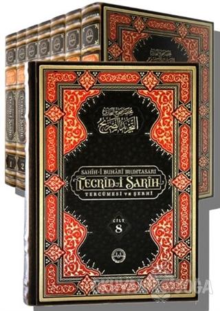 Sahih-i Buhari Muhtasarı Tecrid-i Sarih (8 Cilt Takım Orta Boy) (Ciltli)