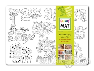 Funny Mat - Sayılar - Kolektif - Akademi Çocuk - Funny Mat