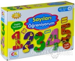 Sayıları Öğreniyorum - Okul Öncesi Eğitici-Öğretici Oyun Seti (+3 Yaş)