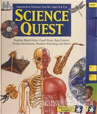 Science Quest - Interactive Science Fun for Ages 9 and Up (Ciltli)