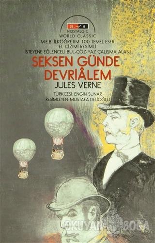 Seksen Günde Devri Alem (Nostalgic) - Jules Verne - Bordo Siyah Yayınl
